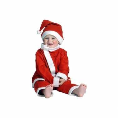 3 delig kerstman peuter kerstkleding