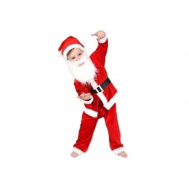5 delig kerstman peuter kerstkleding