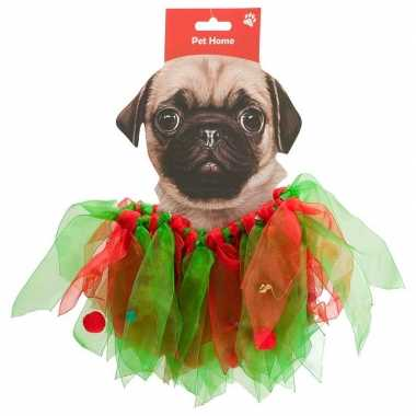Huisdieren kerstkleding kerstelf pakje voor honden
