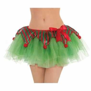 Kerstelf tutu voor dames