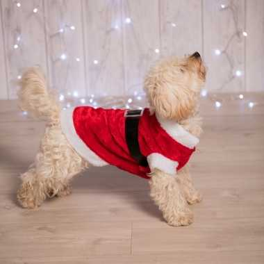 Kerstman kerstkleding voor de hond