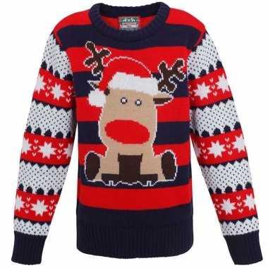Kersttrui Voor Kinderen.Kinder Kersttrui Met Rendier Kerstkleding Eu