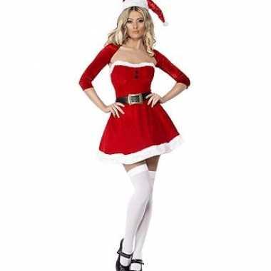 2ba613d858c709 Kort kerst jurkje met bolero