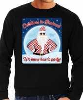 Foute kersttrui christmas in brabant zwart voor heren