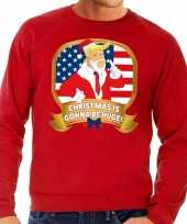 Foute kersttrui rood christmas is gonne be huge voor heren