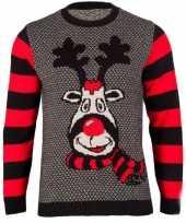 Kersttrui rudy reindeer voor dames